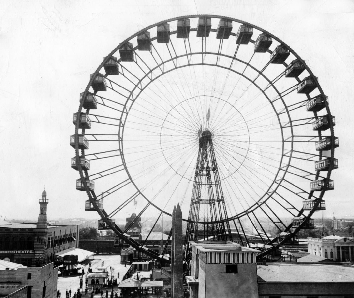 There was only ever one true Ferris Wheel, and we blew it up