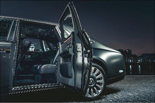 The interior of Rolls Royce's new Ghost sedan is hauntingly beautiful