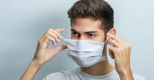Why you should never wear your mask around your neck