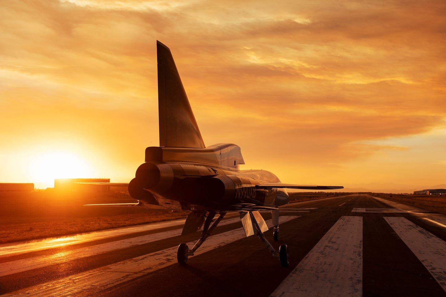 This test plane could be a big step towards supersonic commercial flights