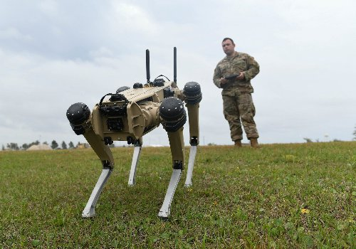 The Air Force's new guard dogs are robots - here's how fast they are