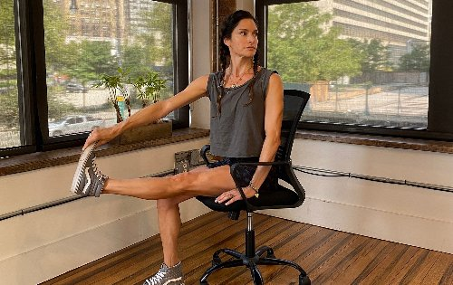 Six seated exercises to keep you limber at your desk