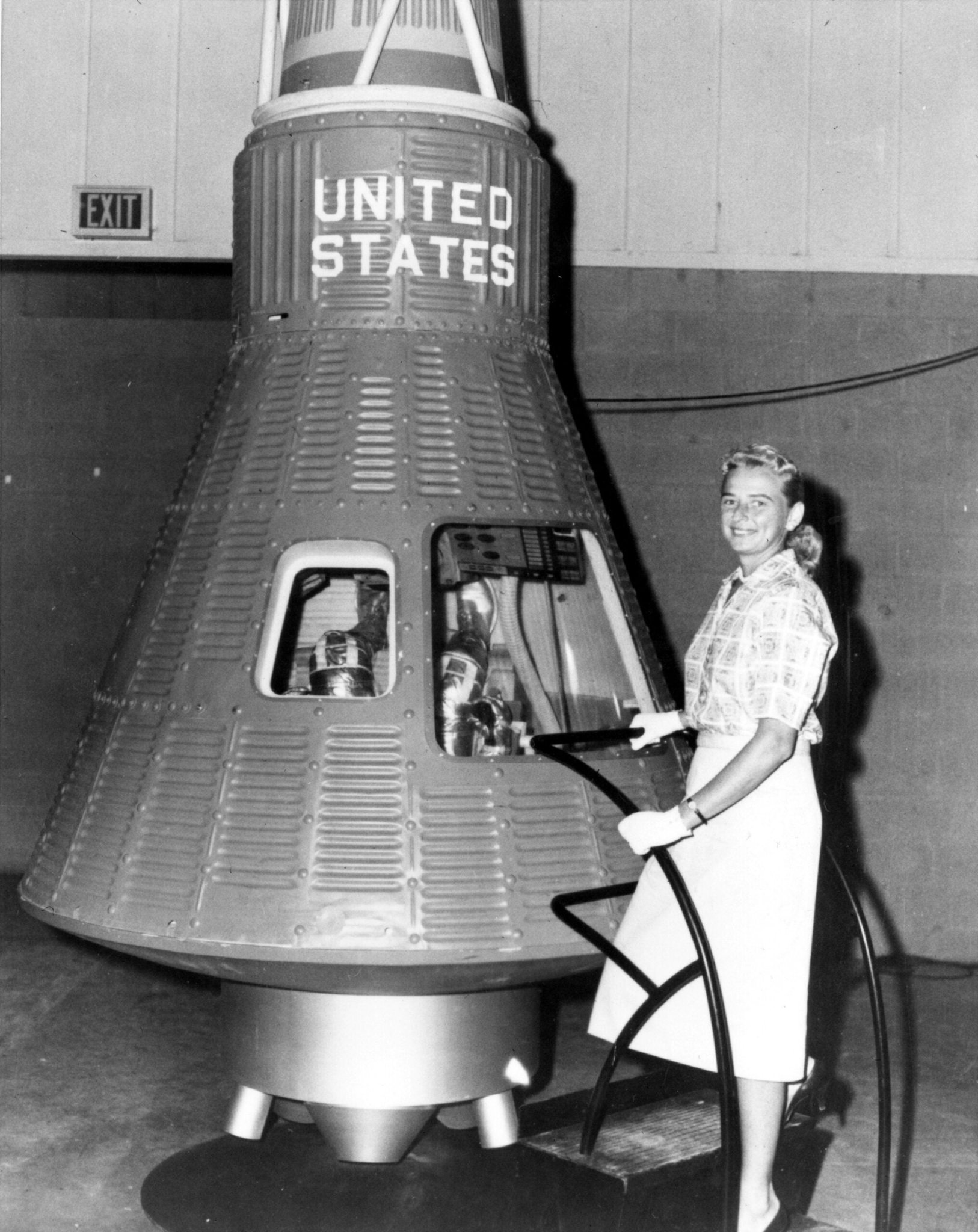 A brief history of menstruating in space