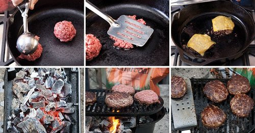 The four best ways to cook a burger