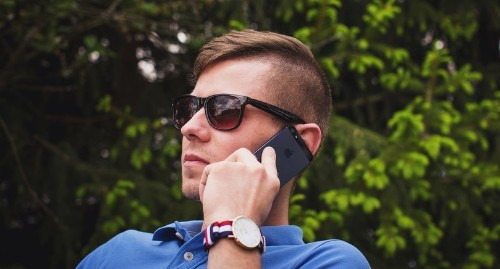 You should get a burner phone number (even if you're not a spy)