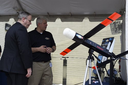 The Coyote swarming drone can deploy for aerial warfare—or hurricanes
