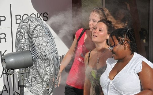 Don't melt on the patio: These are the best outdoor misting fan to keep you cool this summer