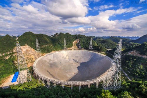 The world's biggest radio telescope is finally open to international scientists