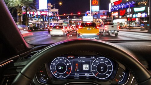 Audi's new tech can help you beat red lights