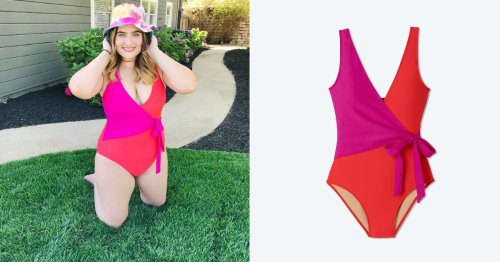 This Summersalt Wrap Swimsuit Sold Out in 7 Days, So I Had to See If It's Worth the Hype