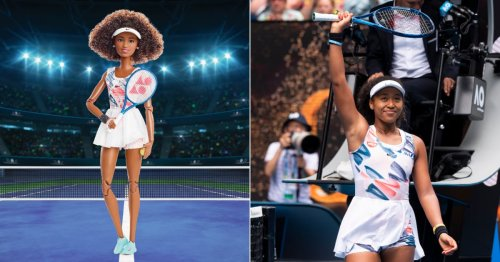 """Naomi Osaka Wants Her Barbie to """"Remind Young Girls That They Can Make a Difference in the World"""""""