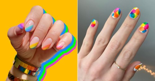 Show Your Pride With These 24 Colorful (but Simple) Nail Art Ideas