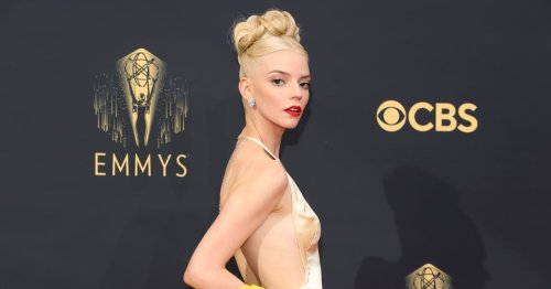 My Oh My, Anya Taylor-Joy's Emmys Dress Dips Dangerously Low in the Back