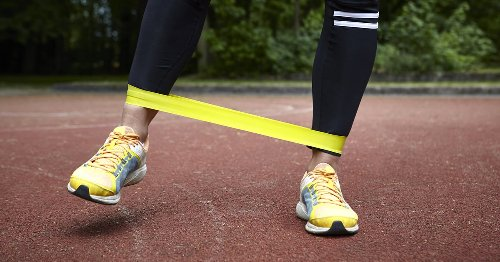 My Legs Were on Fire (in the Best Way) After This 10-Minute Resistance-Band Workout