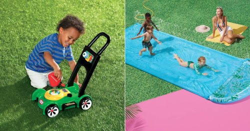 These 15 Outdoor Toys Will Keep Kids Busy All Summer Long