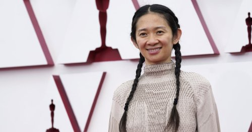 Chloé Zhao's Pigtail Braids and No-Makeup Look at the Oscars Are the Definition of Chill