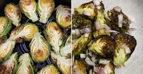 This Air Fryer Brussels Sprouts Recipe Makes a Crispy and Irresistible Dinner Side Dish