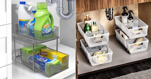 These 15 Under-the-Sink Storage Products Are Total Organizing Game Changers