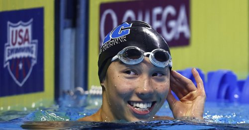 Who Is Torri Huske? This Record-Breaking Swimmer Stole the Show at the Olympic Trials