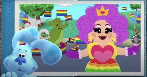 Blue's Clues & You! Celebrates LGBTQ+ Families in a Sing-Along Featuring Drag Queen Nina West