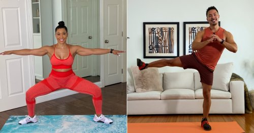 Got 5 Minutes? Try This 100-Rep Squat Challenge From Jeanette Jenkins and Kenta Seki
