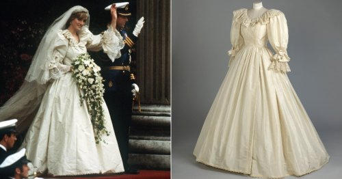 Princess Diana's Wedding Dress to Go on Display at the Kensington Palace Summer Exhibition