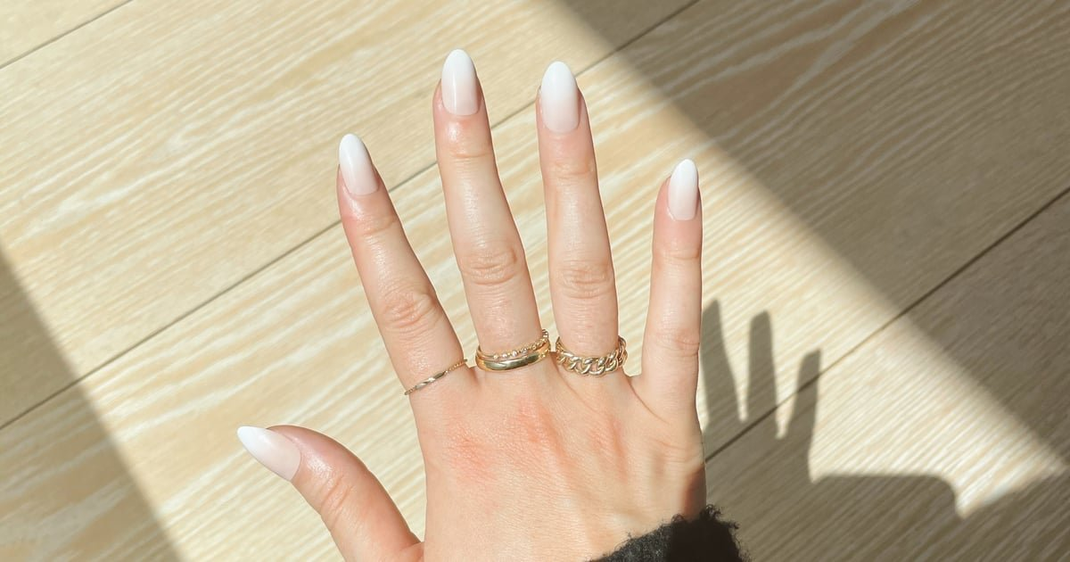 These $16 Press-On Nails Transformed My Bare Nails Into a Work of Art