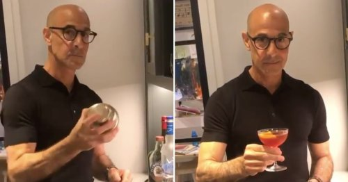 Regarding Stanley Tucci's Inexplicably Sexy Negroni Video: Keep the Tuccorials Coming