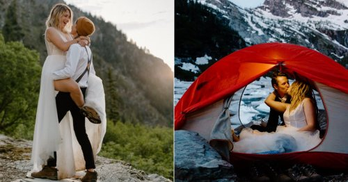 The Sentimental Reason Behind This Couple's Mountain Elopement Is Truly Heartwarming