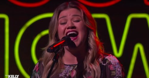 "Prepare to Get Lost in Kelly Clarkson's Dreamy Cover of Kacey Musgraves's ""Rainbow"""