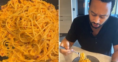 John Legend Says Chrissy Teigen's Spicy Miso Pasta Is Magical, So I Obviously Need to Try It