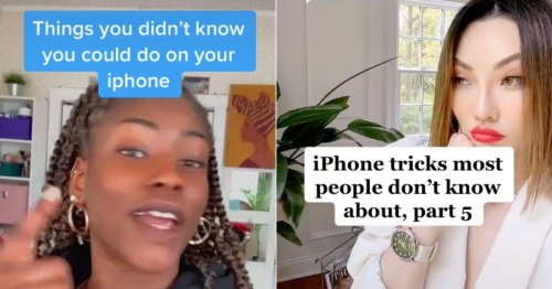 TikTok Users Are Sharing the Wildest iPhone Hacks, and We Bet You Didn't Know These