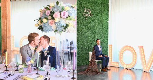 """This Gorgeous Styled Wedding Is a Pastel Dream That Looks Right Out of Taylor Swift's """"Me!"""" Video"""