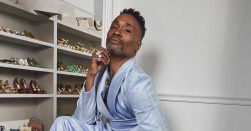 Billy Porter Dropped a Jimmy Choo Collection, and Yes, the Shoes Are Fabulous