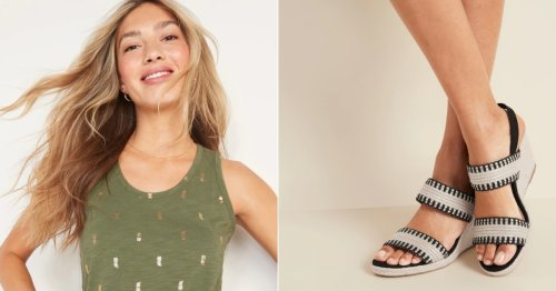 The Top 50 Things We Found on Sale at Old Navy This Week, From $5 Tanks to $15 Jeans