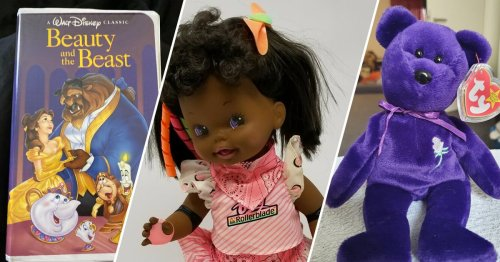 '90s Toys You Probably Have Stashed Away That Are Worth a LOT of Money Now