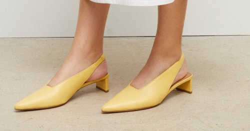 18 Slingback Heels That Are Comfy, Cute, and Perfect For Summer