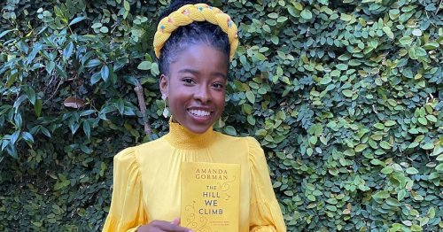 Amanda Gorman Found the Perfect Yellow Dress to Match Her New Book of Poetry