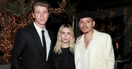 Emma Roberts Wore This Classic Minidress to Attend an Oscars Party With Garrett Hedlund