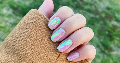 """From """"Ice Cube"""" Nails to Dotted Manicures, These Are the Top Nail-Art Trends For Spring"""
