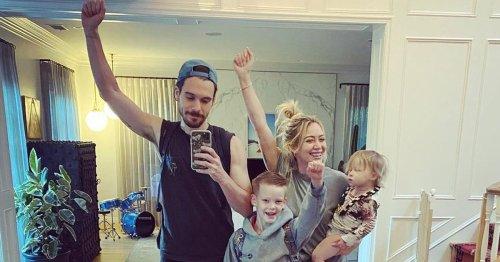 "Hilary Duff Recalls When Her Son Luca Realized Stepdad Matthew Koma Was His ""Best Friend"""