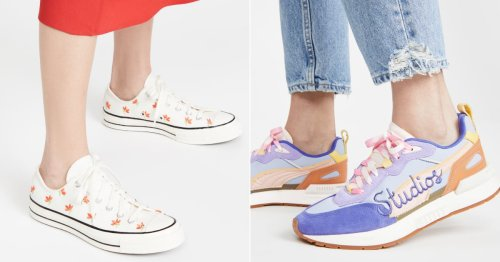 Just For Kicks: Our Editors Chose 23 Cool and Trendy Sneakers They're Wearing in 2021