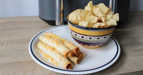 Air Fryer Frozen Taquitos Might Be the Best Lazy Dinner Ever