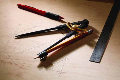 Use A Compass For Layout | Popular Woodworking Magazine