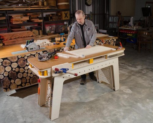Building the Maker Workstation Top | Popular Woodworking Magazine