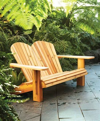 Adirondack Loveseat | Popular Woodworking Magazine