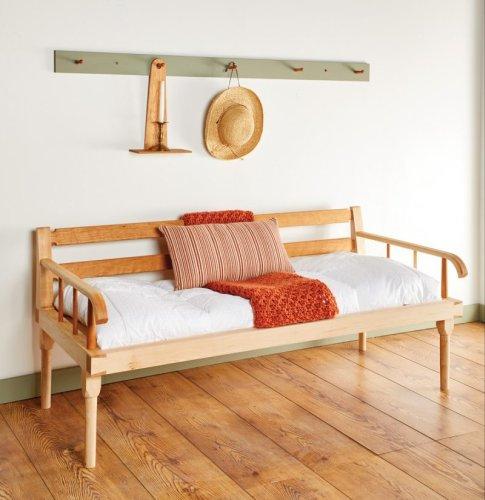 Hancock Shaker Village Daybed | Popular Woodworking Magazine