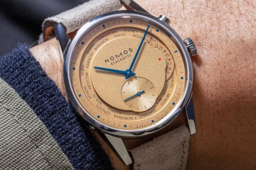 The Hour Glass joins NOMOS for Limited Edition Worldtimer - Por Homme - Contemporary Men's Lifestyle Magazine