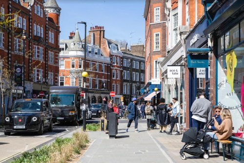 Clean, green and the place to be seen - why Marylebone Village is your best bet for a capital staycation