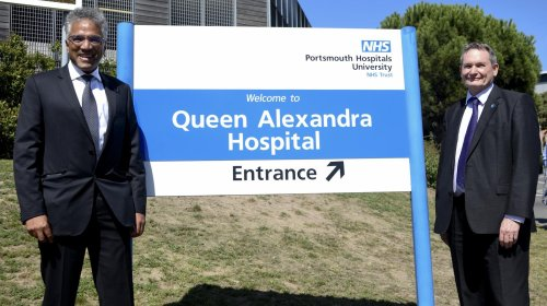 Portsmouth NHS trust celebrates 'exciting' first year as a university hospital